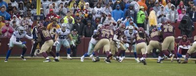 Cowboys Defeat Redskins 31-23 And Reach The NFC East First Place