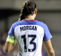 Alex Morgan Wins The U.S. Soccer Player Of The Year Award For The Second Time In Her Career