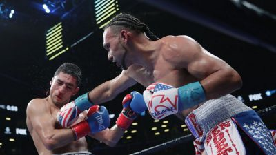 Keith Thurman Retains His WBA Super Welterweight Title With A Win Over Lopez