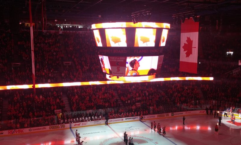 Calgary Flames Post Their 4th Straight Win And Defeat Anaheim Ducks, 2-1