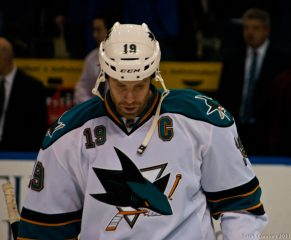 Joe Thornton's Hat-Trick Not Enough For His Sharks To Defeat Boston Bruins, 5-6 OT