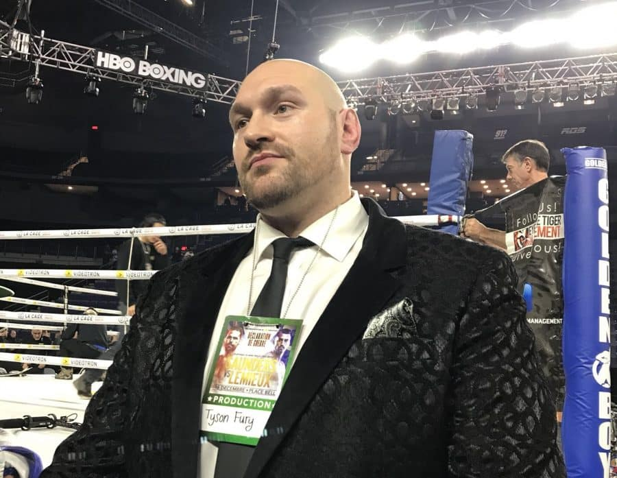 Tyson Fury and Anthony Joshua Agree to a Two-Fight Deal