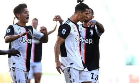 Ronaldo Leads Juventus to a Win Over Lazio, 2-1