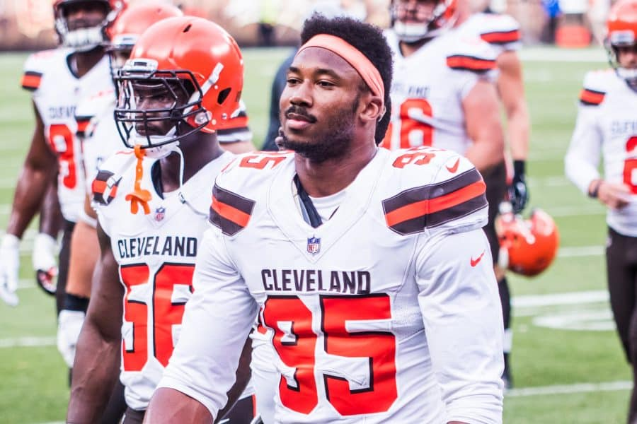 Myles Garrett Close to Signing a $125 Million Extension With the Cleveland Browns