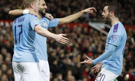 Merciless Manchester City Reaches Carabao Cup Semis, Slams Arsenal, 1-4