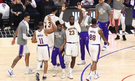 Nuggets Complaining About Fouls While Lakers Take Game 4, 114-108