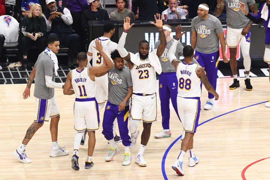 Davis, James Excellent, LA Lakers Eliminate Portland Trail Blazers, 131-122