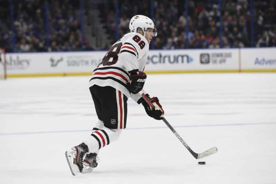 Chicago Blackhawks Strike Early And Often To Defeat Edmonton Oilers In Game One