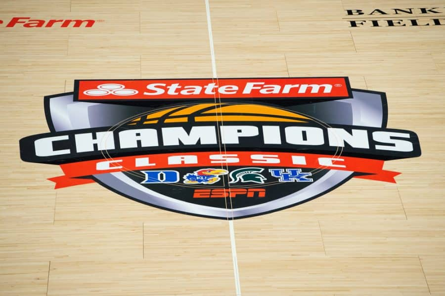 Champions Classic: Kansas Jayhawks Edge Out Kentucky Wildcats, Michigan State Routine Against Duke