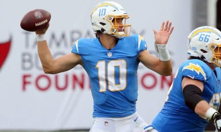 Justin Herbert Writes History as Chargers Defeat Raiders, 30-27 OT