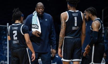 Patrick Ewing, Georgetown Hoyas Win The Big East Tournament Title, Demolish Creighton 73-48
