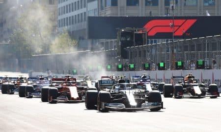 Sergio Perez Wins Azerbaijan Grand Prix, Both Hamilton and Verstappen Out